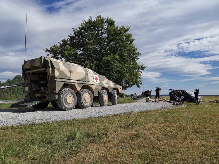 """Bundeswehrmanöver """"Combined Aid"""""""